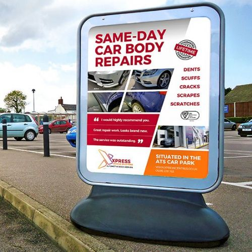 Sentinel ® Forecourt Sign